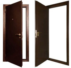Входные металлические, технические двери Белгород
