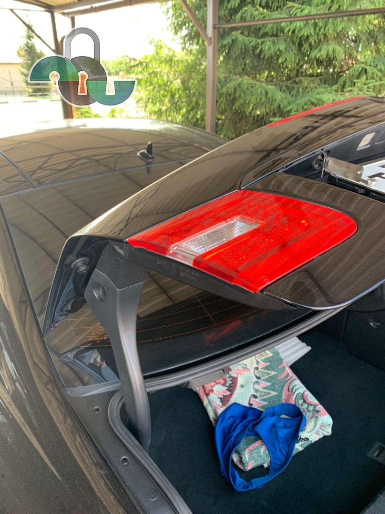 Вскрытие замка багажника автомобиля в Белгороде