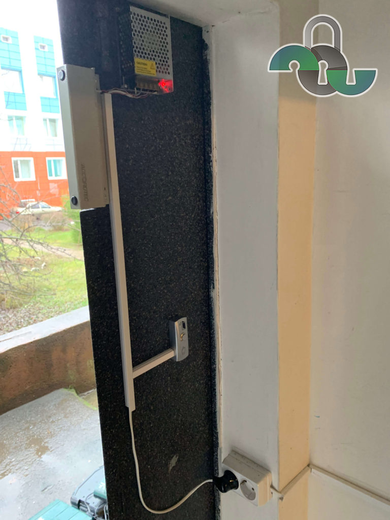 Монтаж систем достума с магнитным замком в Белгороде