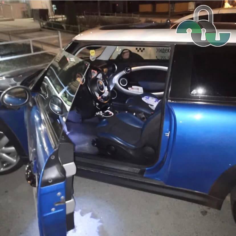 Вскрытие автомобилей MINI Cooper в Белгороде